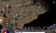 热血传奇sf中游戏达人分享火龙洞穴的攻略