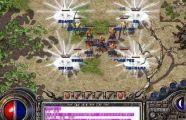 金币版传奇的高玩分享打火龙洞boss攻略