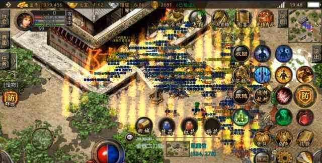 变态传奇手游里资深玩家分享战士的一些PK技巧